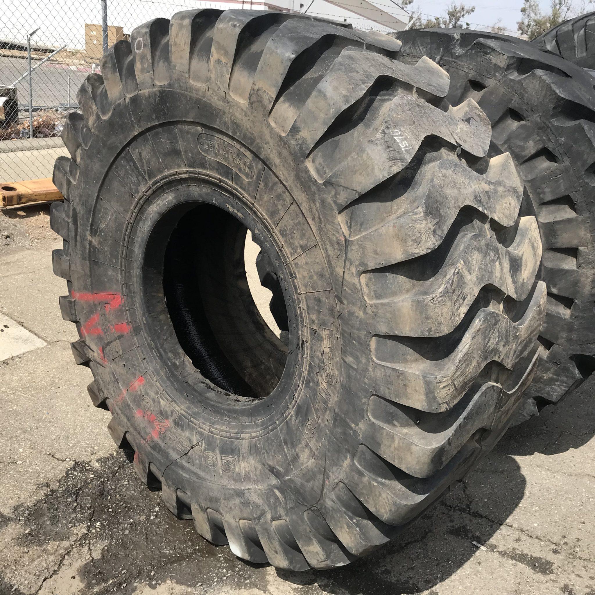 29 5x29 Leviathon Otr Tire E 3 L 3 E3 L3 34 Ply Condition Usedtread